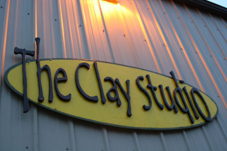 Clay Studio Sign