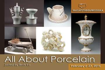 Porcelain Announcement Card