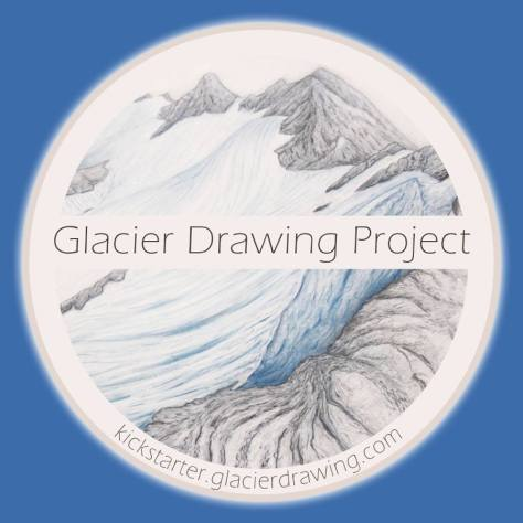 Glacier Drawing Logo