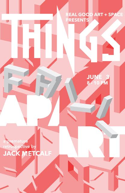 Things Fall Apart Announcement Card