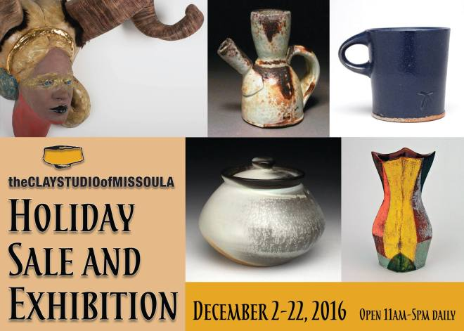 Clay Studio of Missoula- Holiday Sale