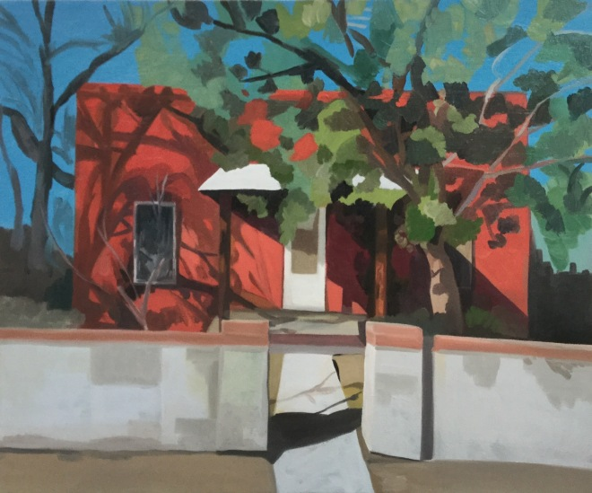 """Sheila Miles- """"The Strawberry House"""""""